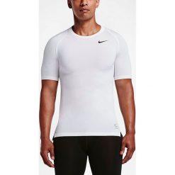 Nike Koszulka męska NP Top Compression SS biała r. M (703094 100). Białe t-shirty męskie Nike, m. Za 79,00 zł.