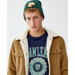 """Bluza college """"Sport Camp"""". Zielone bluzy męskie Pull&Bear, m. Za 89,90 zł."""