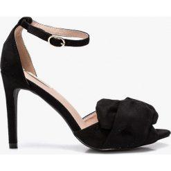 Answear - Sandały Bellucci. Szare sandały damskie marki ANSWEAR, z gumy. W wyprzedaży za 89,90 zł.