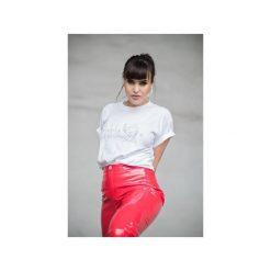 Overdose White T-shirt. Białe t-shirty damskie Rest_factory, l, z bawełny, z klasycznym kołnierzykiem. Za 89,00 zł.