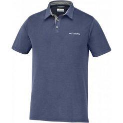Columbia Koszulka Męska Polo Nelson Point Polo Collegiate Navy, M. Niebieskie koszulki polo Columbia, m. W wyprzedaży za 155,00 zł.
