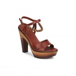 Sandały UGG  NAIMA. Szare sandały damskie marki Ugg, z materiału, z okrągłym noskiem. Za 489,30 zł.