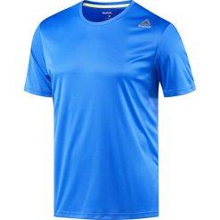 Koszulka do biegania męska REEBOK RUNNING SHORT SLEEVE TEE / BR4456 - REEBOK RUNNING SHORT SLEEVE TEE. Niebieskie koszulki do biegania męskie Reebok, m. Za 69,00 zł.