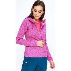 Columbia - Bluza. Różowe bluzy z kieszeniami damskie Columbia, l, z dzianiny, z kapturem. W wyprzedaży za 249,90 zł.