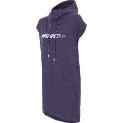 Sukienki dzianinowe: Sukienka sportowa SUDD002 - denim melanż