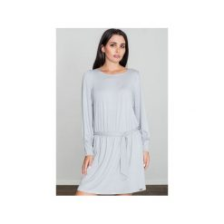 Sukienki: Sukienka M576 Szary