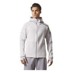 BLUZA ADIDAS ZNE HOOD2 PULS BQ0074. Szare bluzy męskie marki Adidas, m. Za 299,00 zł.