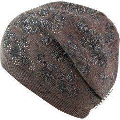 Czapka damska Bogactwo Wschodu brązowa. Brązowe czapki zimowe damskie marki Art of Polo. Za 54,70 zł.