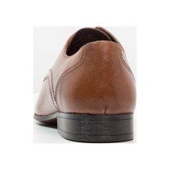 Buty wizytowe męskie: Burton Menswear London SAMPSON DERBY Eleganckie buty tan