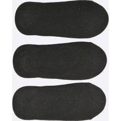 Nike - Stopki (3-pack). Czarne skarpetki damskie marki Nike, z bawełny. Za 49,90 zł.