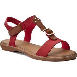 Rzymianki damskie: Sandały VIA RAVIA – WS1807-3 Czerwony