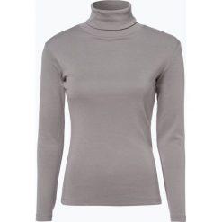Brookshire - Damska koszulka z długim rękawem, szary. Szare t-shirty damskie brookshire, s, z bawełny, z golfem. Za 89,95 zł.