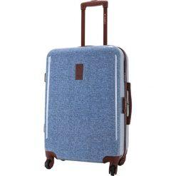 Walizki: Walizka w kolorze niebieskim – (S)40 x (W)65 x (G)27 cm