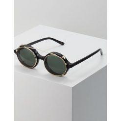 Han Kjobenhavn DOC CLIP ON SUNGLASSES Okulary przeciwsłoneczne black. Czarne okulary przeciwsłoneczne męskie Han Kjobenhavn. Za 569,00 zł.
