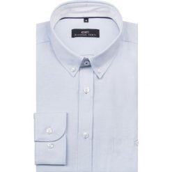 Koszula KDNS000098 SIMONE10D. Czarne koszule męskie na spinki marki TOM TAILOR DENIM, l, z bawełny, button down, z długim rękawem. Za 149,00 zł.