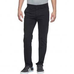 Spodnie chino - Slim fit - w kolorze ciemnoszarym. Czarne chinosy męskie Adidas, w paski, z bawełny. W wyprzedaży za 152,95 zł.