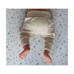 Spodnie pumpy Basic naturalne r. 68 (NK-090/01). Szare spodnie niemowlęce NANAF ORGANIC. Za 37,12 zł.