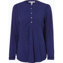 Esprit Casual - Tunika damska, niebieski. Niebieskie tuniki damskie Esprit Casual, na co dzień, w grochy, z wiskozy, casualowe. Za 99,95 zł.