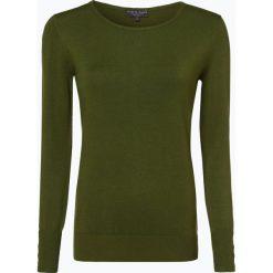 Marie Lund - Sweter damski, zielony. Zielone swetry klasyczne damskie Marie Lund, xs, z dzianiny, z klasycznym kołnierzykiem. Za 99,95 zł.