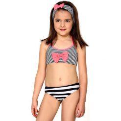 Dziewczęcy kostium kąpielowy Assunta. Różowe stroje dwuczęściowe dziewczęce Astratex, z materiału. Za 85,99 zł.