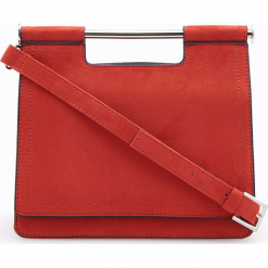 Torebka z ozdobnym uchwytem - Fioletowy. Fioletowe torebki klasyczne damskie Reserved. Za 119,99 zł.