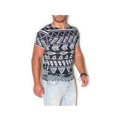T-shirt Huitzilin. Szare t-shirty męskie z nadrukiem marki Button. Za 97,00 zł.