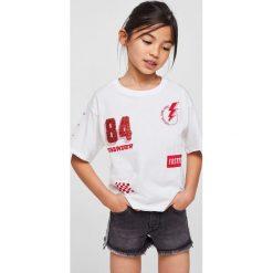 Mango Kids - Szorty dziecięce Stripe 116-164 cm. Czarne szorty damskie z printem marki bonprix. Za 79,90 zł.