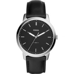 Zegarki męskie: Zegarek FOSSIL – The Minimalist 3H FS5398 Black/Silver