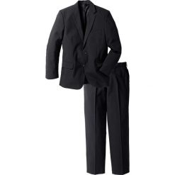 Garnitur (2 części) bonprix czarny. Czarne garnitury bonprix. Za 269,99 zł.