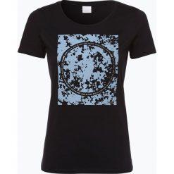 BOSS Casual - T-shirt damski – Tecircle, niebieski. Niebieskie t-shirty damskie BOSS Casual, s, z nadrukiem. Za 219,95 zł.