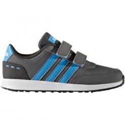 Adidas Buty Vs Switch 2 Cmf C Grey Five/Solar blue2 s14/Utility Black 31. Czarne buciki niemowlęce chłopięce Adidas, z nubiku. W wyprzedaży za 95,00 zł.