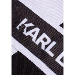 KARL LAGERFELD TERRY Bluza black base. Czarne bluzy rozpinane damskie KARL LAGERFELD, l, z bawełny. Za 689,00 zł.