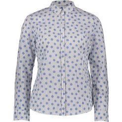 Bluzki damskie: Bluzka w kolorze błękitno-białym