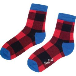 Skarpety Wysokie Unisex HAPPY SOCKS - GIH01-4000 Czerwony Kolorowy. Czerwone skarpetki damskie Happy Socks, w kolorowe wzory, z bawełny. Za 34,90 zł.