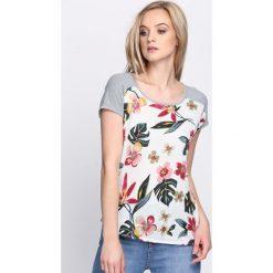 Szary T-shirt Sweet Taste. Szare bluzki damskie Born2be, l. Za 19,99 zł.
