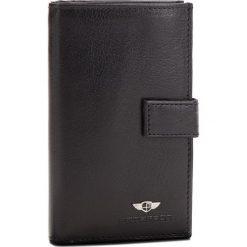 Duży Portfel Męski PETERSON - 630-02-01-01 Czarny. Czarne portfele męskie marki Peterson, ze skóry. Za 99,00 zł.