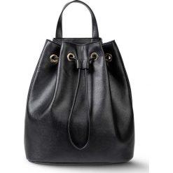 Plecaki damskie: Plecak worek bonprix czarny