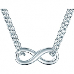 Srebrny naszyjnik z elementem ozdobnym. Szare naszyjniki damskie Stylowa biżuteria, srebrne. W wyprzedaży za 108,95 zł.