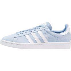 Adidas Originals CAMPUS Tenisówki i Trampki ash blue/footwear white. Niebieskie tenisówki damskie marki adidas Originals, z materiału. Za 399,00 zł.