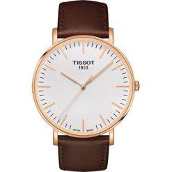 RABAT ZEGAREK TISSOT Everytime Big Gent T109.610.36.031.00. Białe zegarki męskie TISSOT, ze stali. W wyprzedaży za 1012,00 zł.
