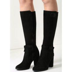 Czarne Kozaki Plain Jane. Czarne buty zimowe damskie marki vices, na wysokim obcasie. Za 129,99 zł.