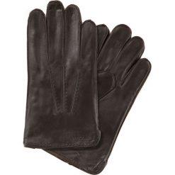Rękawiczki męskie 39-6-348-B. Czarne rękawiczki męskie Wittchen, ze skóry. Za 219,00 zł.