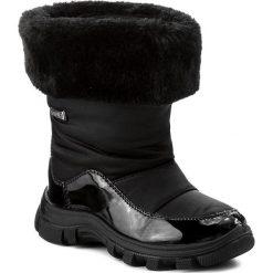 Kozaki dziewczęce: Śniegowce NATURINO – Volga 0013001240 Nero F/Do Nero