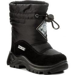 Buty zimowe chłopięce: Śniegowce NATURINO – Varna 0013001227.01.9100 Nero F. Do Nero M