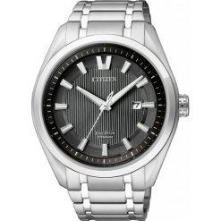 ZEGAREK CITIZEN Titanium AW1240-57E. Czarne zegarki męskie CITIZEN, ze stali. Za 980,00 zł.