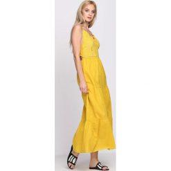 Sukienki: Żółta Sukienka Warrior of Ligh