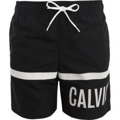 Kąpielówki chłopięce: Calvin Klein Swimwear MEDIUM DRAWSTRING STREIFEN Szorty kąpielowe black