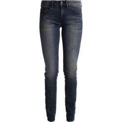 GStar 3301 MID SKINNY Jeans Skinny Fit cerro stretch denim. Niebieskie rurki damskie G-Star. Za 419,00 zł.