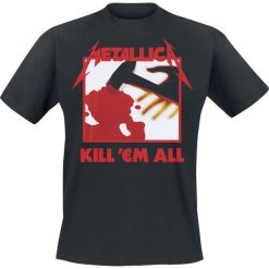 T-shirty męskie: Metallica Kill 'Em All T-Shirt czarny