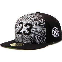 Czapka męska snapback czarna (hx0197). Czarne czapki z daszkiem męskie marki Dstreet, z haftami, eleganckie. Za 69,99 zł.